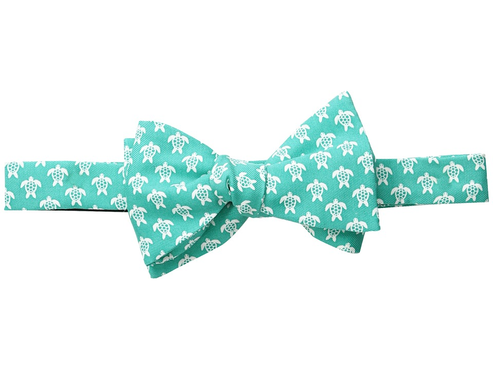 Vineyard Vines - Sea Turtle Printed Bow Tie (Antigua Green) Ties