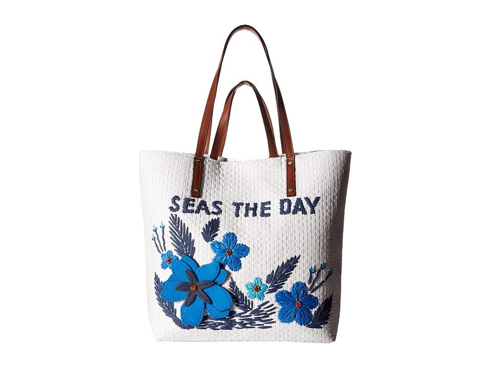 Tommy Bahama - Athen Tote (Lapis/White) Tote Handbags
