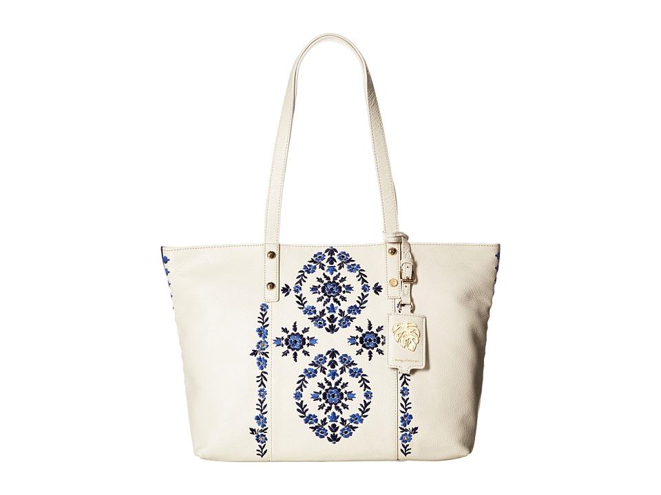 Tommy Bahama - LA Jolla Tote (White Sand) Tote Handbags