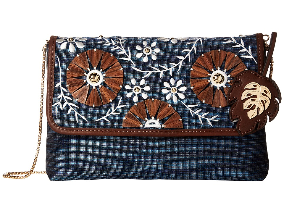 Tommy Bahama - Naples Convertible Shoulder Bag (Lapis) Shoulder Handbags