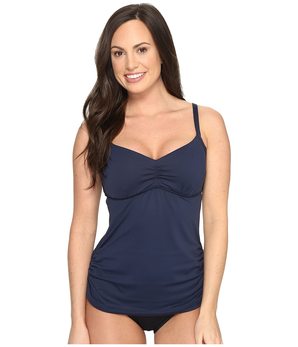 Seafolly - Seafolly DD/E Cup Singlet Top (Indigo) Women's Swimwear