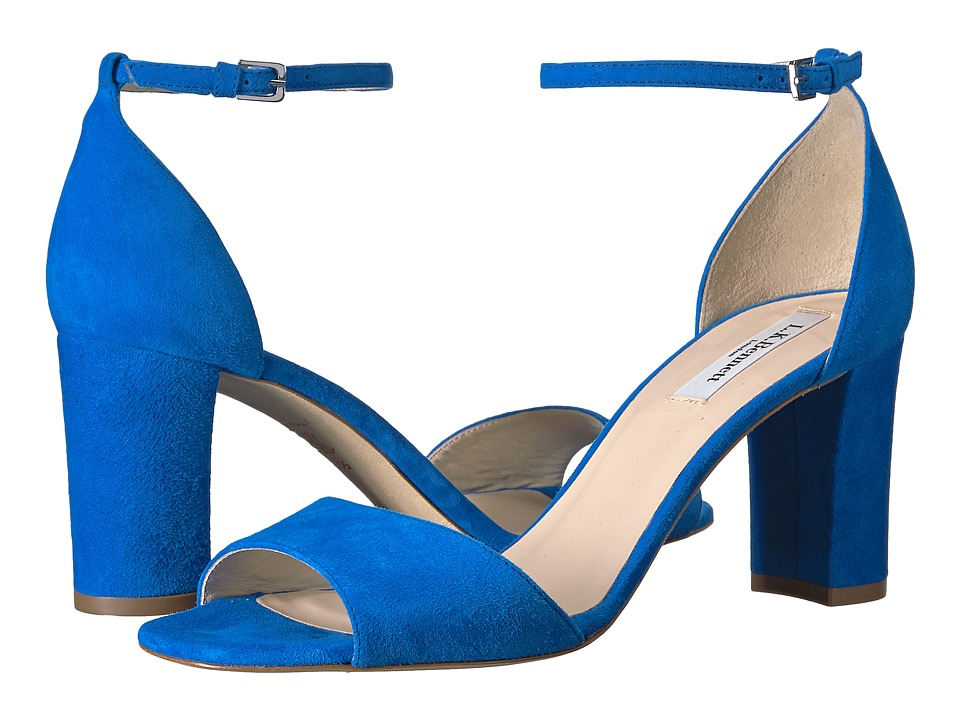 L.K. Bennett - Helena (Blue Majorelle Suede) High Heels