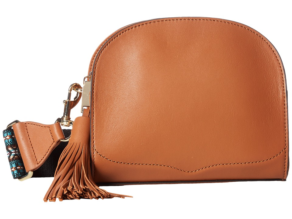 Rebecca Minkoff - Sunday Moon Crossbody (Almond) Cross Body Handbags