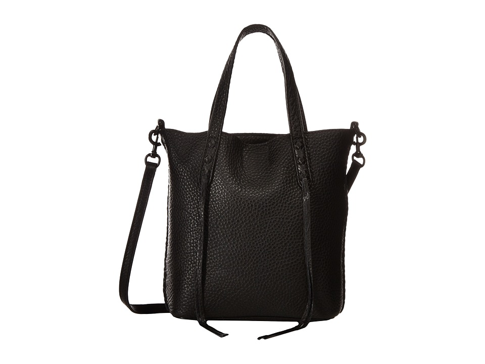 Rebecca Minkoff - Mini Unlined Tote w/ Whipstitch (Black) Tote Handbags