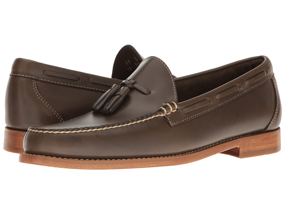 G.H. Bass & Co. - Lexington Tassel Weejuns (Grey Pull-Up) Men's Slip-on Dress Shoes