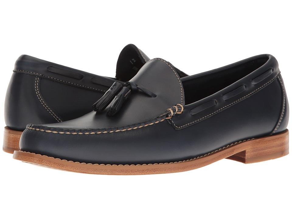 G.H. Bass & Co. - Lexington Tassel Weejuns (Blue Pull-Up) Men's Slip-on Dress Shoes