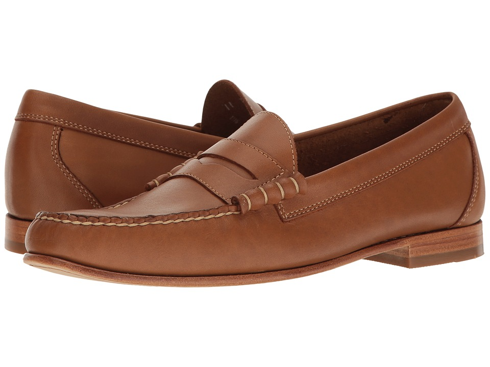 G.H. Bass & Co. - Lambert Weejuns (British Tan Burnished Full Grain) Men's Slip-on Dress Shoes