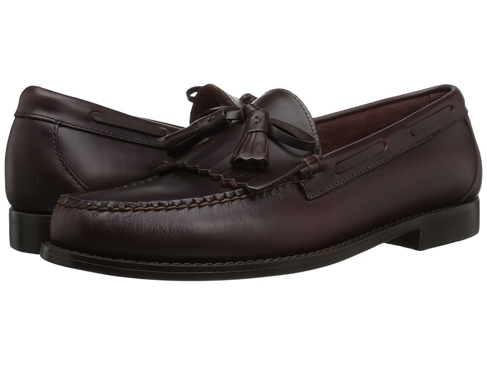 G.H. Bass & Co. Lawrence Kiltie Weejuns (Burgnudy Pull-Up) Men