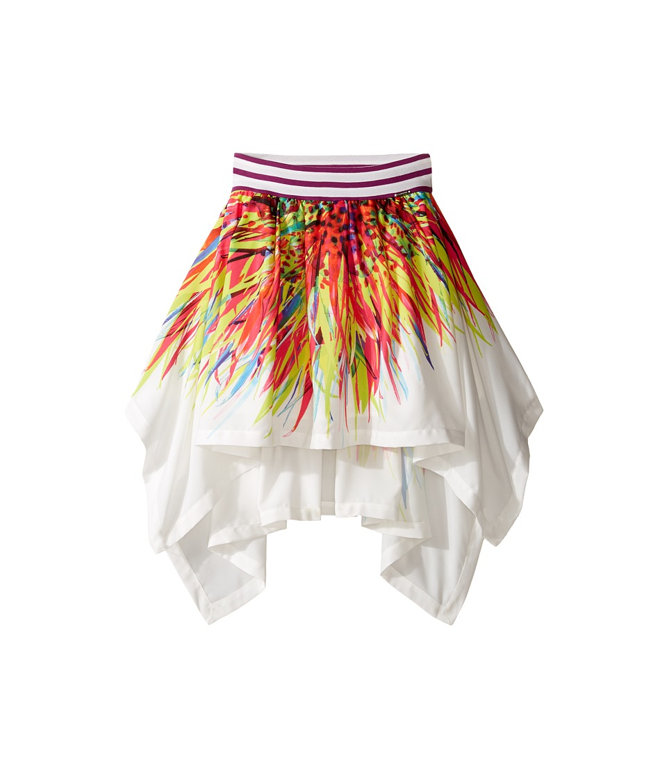 Junior Gaultier - Skirt with Flowers (Big Kids) (Violine) Girl's Skirt