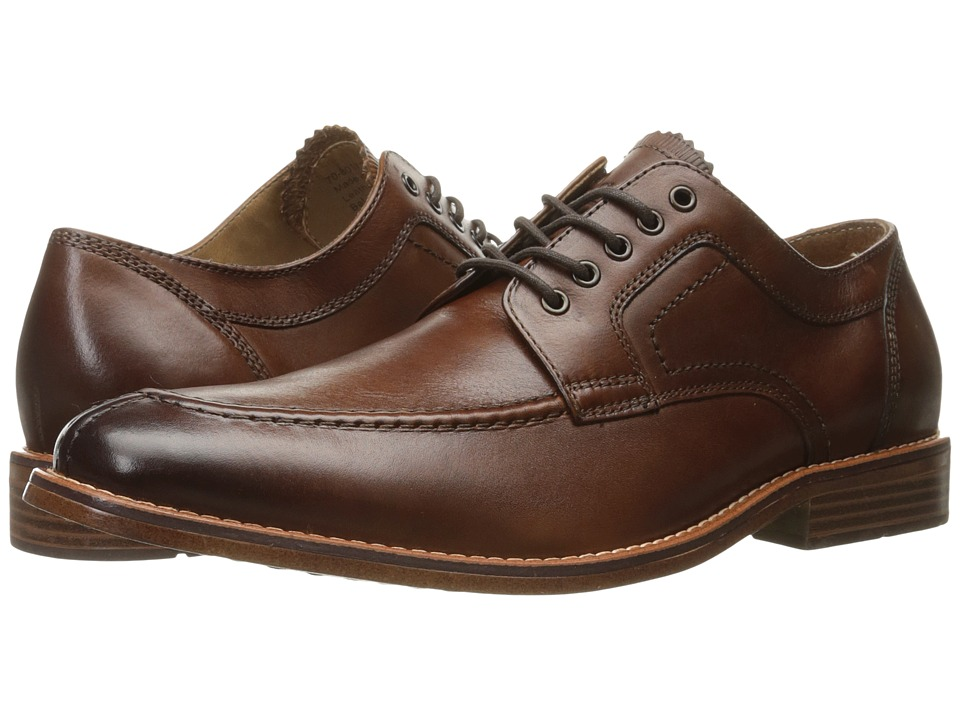 G.H. Bass & Co. - Carsen (British Tan Burnished Full Grain) Men's Lace up casual Shoes