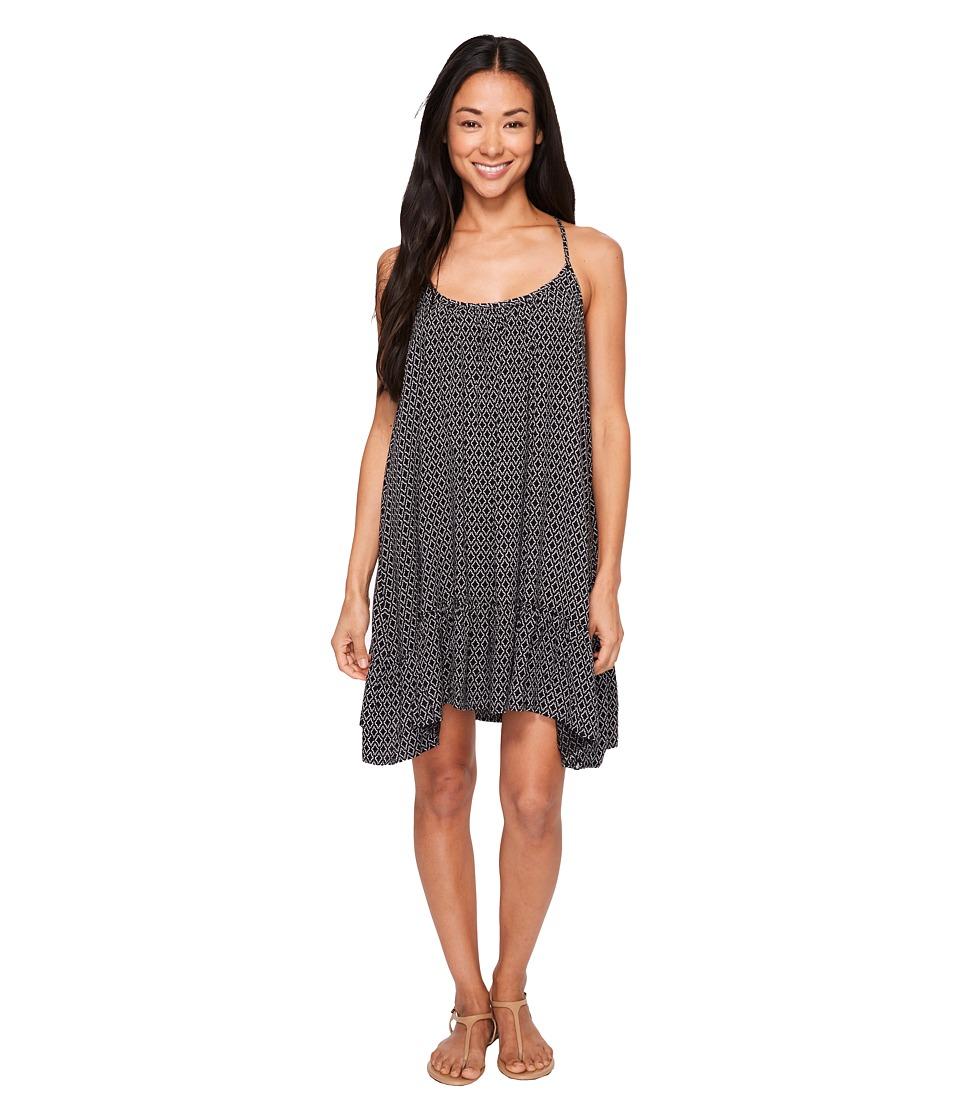 Volcom - Simple Things Dress (Black) Women's Dress