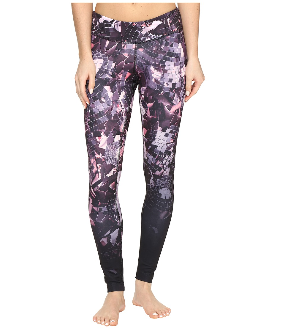 Reebok - Dance Shattered Glam Tights (Violet) Women's Workout