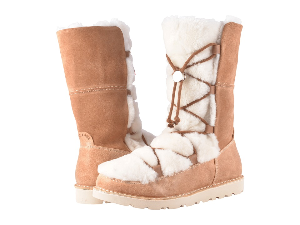 Birkenstock Nuuk Shearling Premium Collection (Nut Leather/Shearling) Women