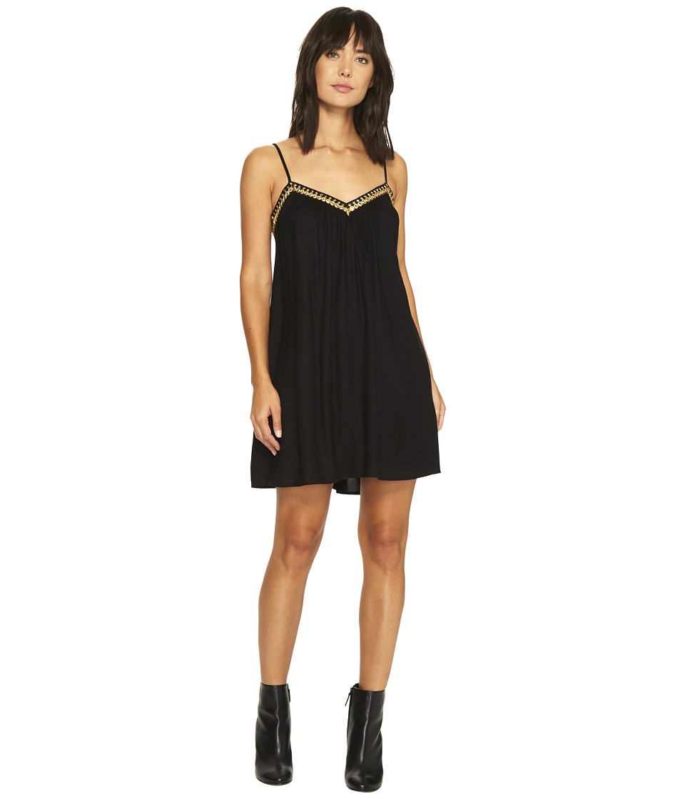Volcom - Stone Coast Dress (Black) Women's Dress