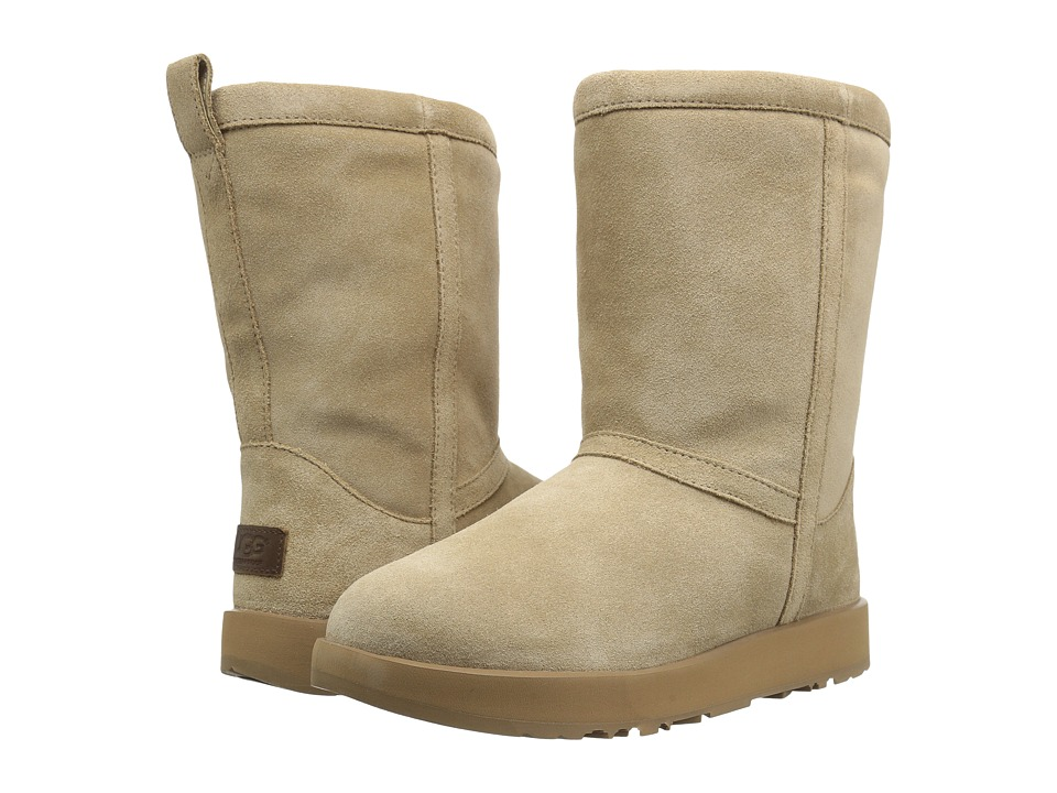 UGG Classic Short Waterproof (Sand) Women