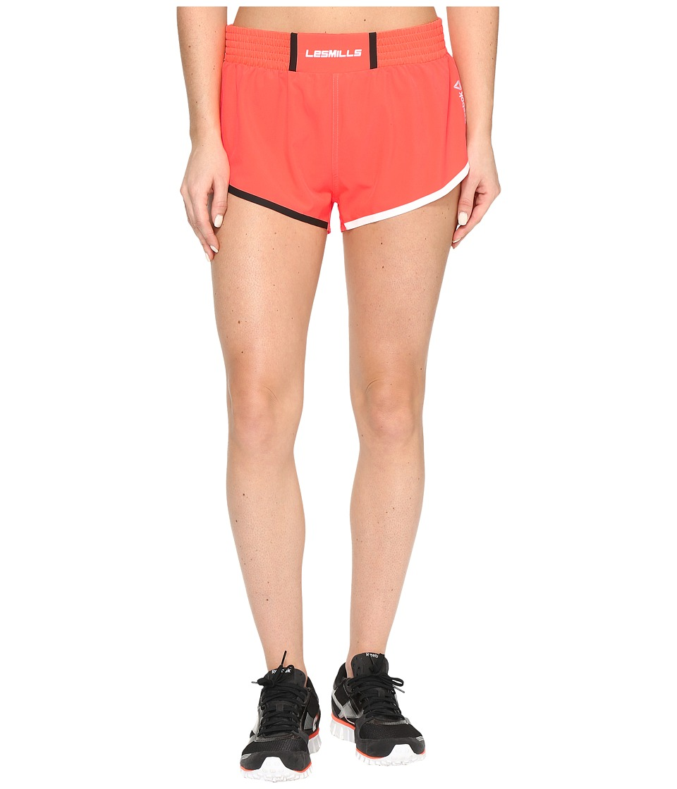 Reebok - LSML Woven Shorts (Orange) Women's Shorts