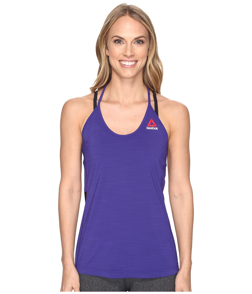 Reebok - One Series AC Tank Top (Purple) Women's Sleeveless
