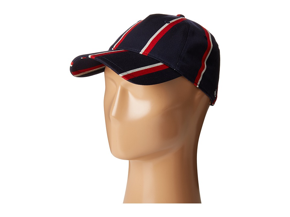 rag & bone - Marilyn Baseball Cap (Navy Multi) Baseball Caps