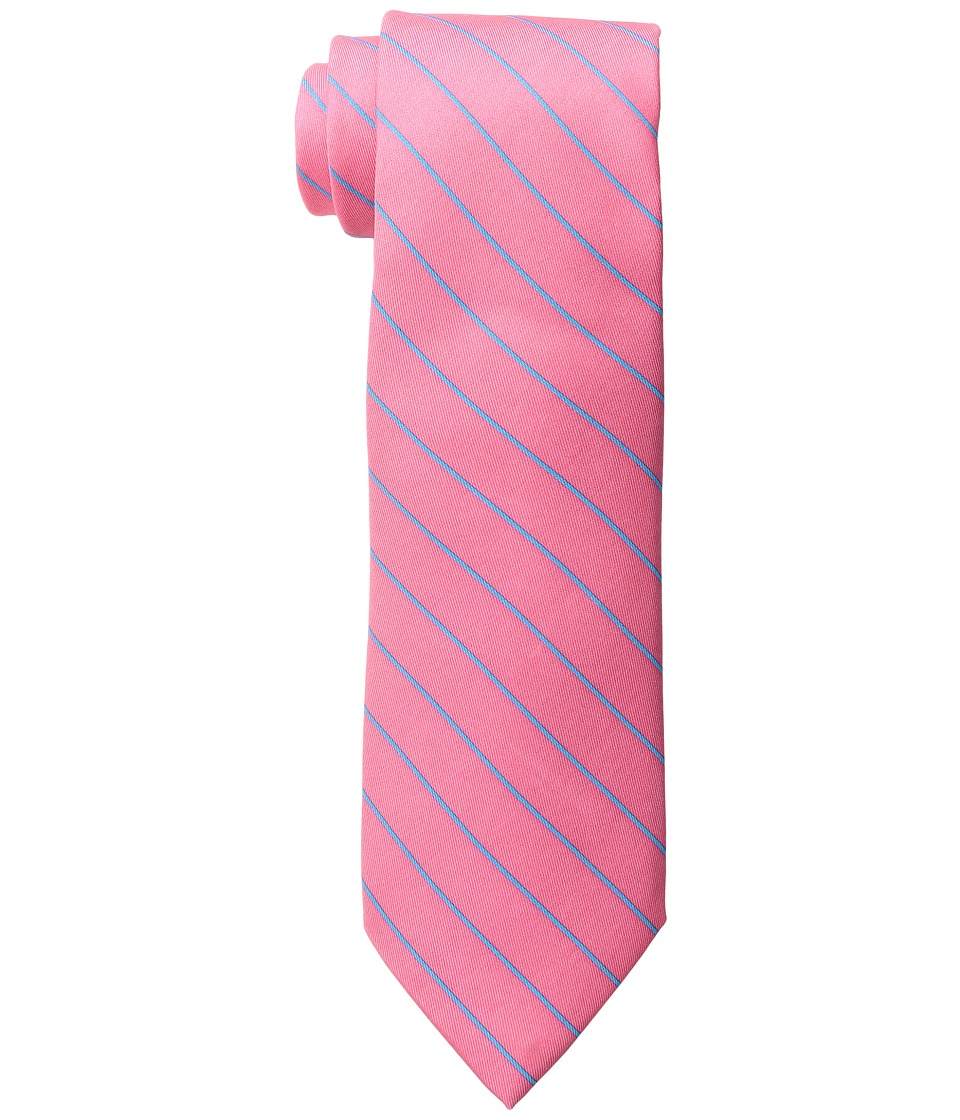 Vineyard Vines - Fish Line Stripe Printed Tie (Conch) Ties