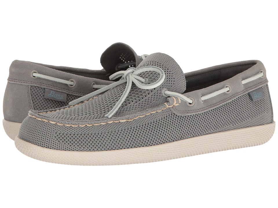 G.H. Bass & Co. - Walker (Grey Active Knit Mesh) Men's Slip on Shoes