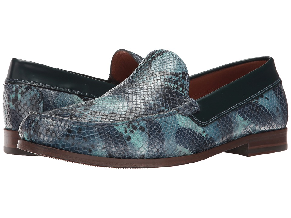 Donald J Pliner - Nate (Blue 1) Men's Shoes