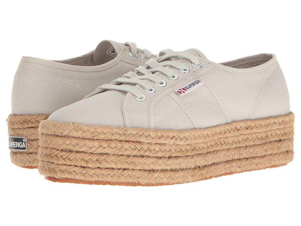 Superga - 2790 Cotropew (Platinum) Women's Lace up casual Shoes