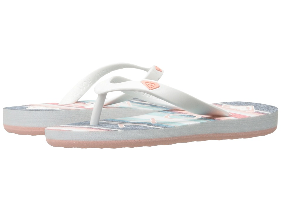 Roxy Kids - Tahiti V (Little Kid/Big Kid) (Stripe Barely Pink) Girls Shoes
