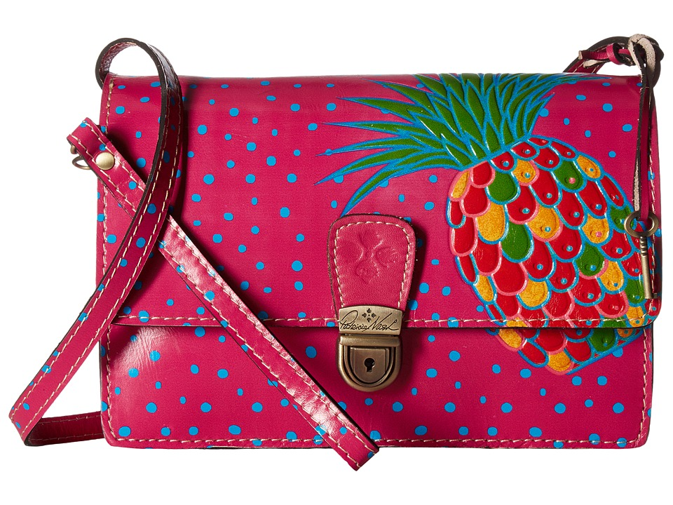 Patricia Nash - Lanza Crossbody Organizer (Pineapple Pink) Cross Body Handbags