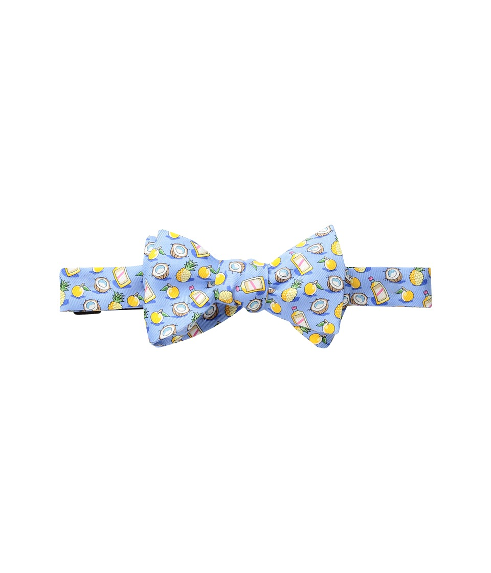 Vineyard Vines - Painkiller Printed Bow Tie (Light Blue) Ties