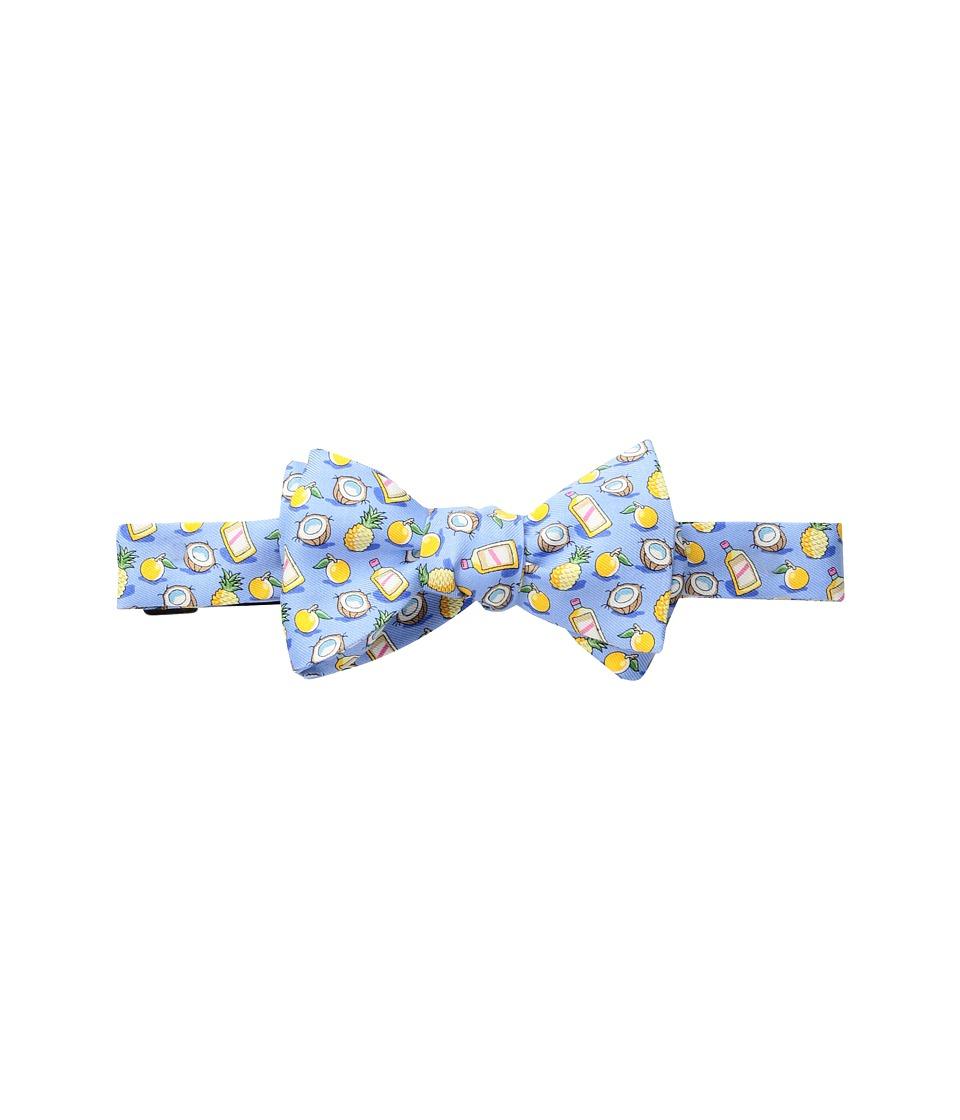 Vineyard Vines - Painkiller Printed Bow Tie (Light Blue) Ties
