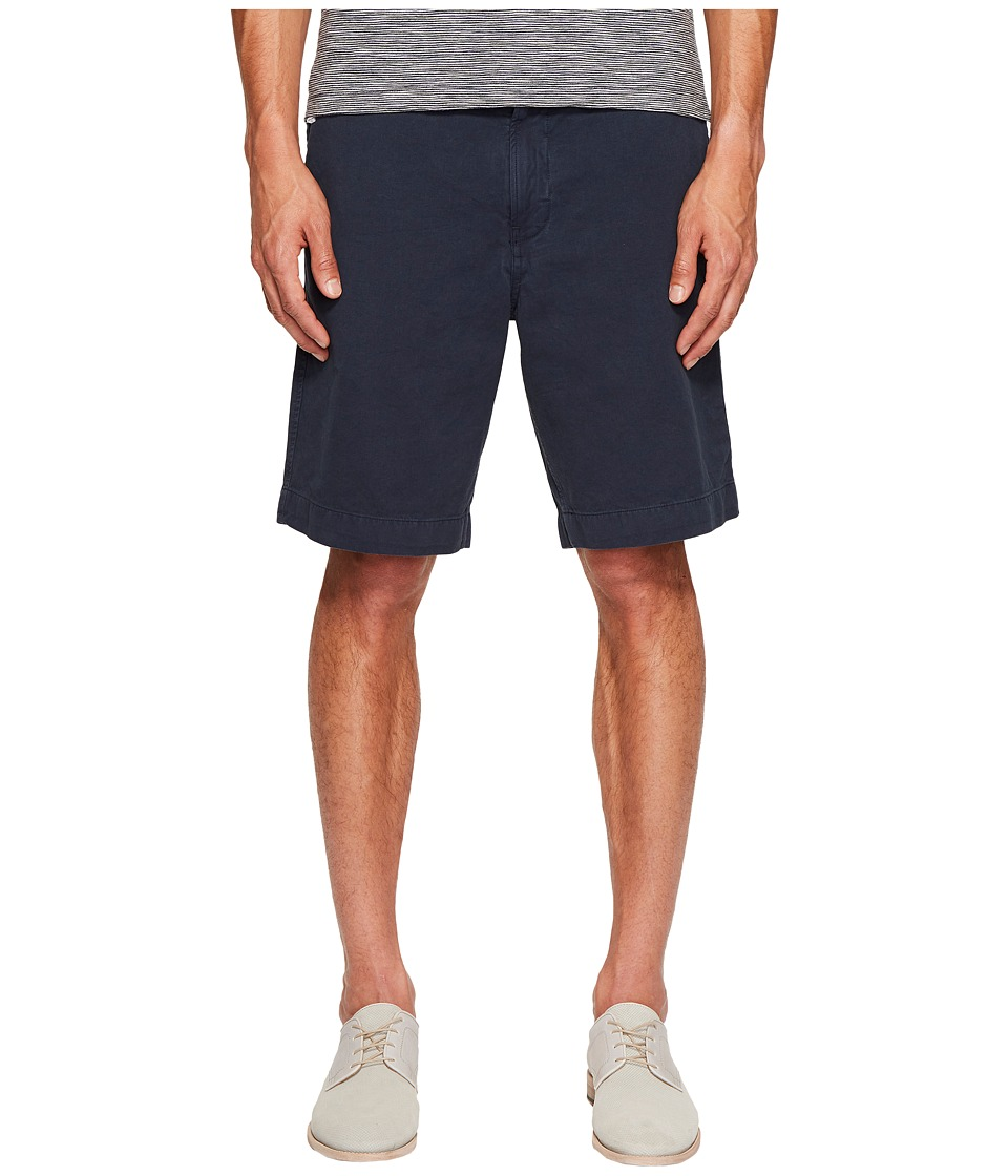 Billy Reid - Clyde Cotton Shorts (Ink Blue) Men's Shorts