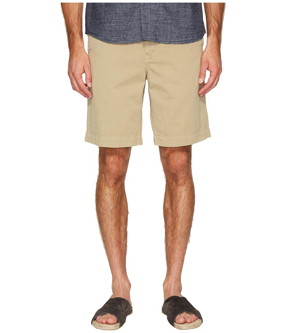 Billy Reid - Clyde Cotton Shorts (Khaki) Men's Shorts