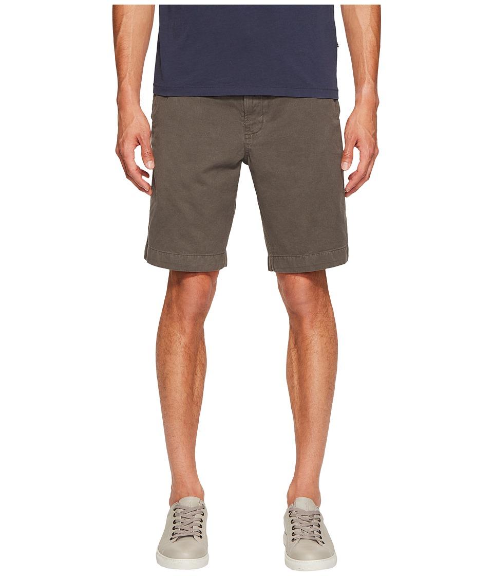 Billy Reid - Clyde Cotton Shorts (Winter Green) Men's Shorts