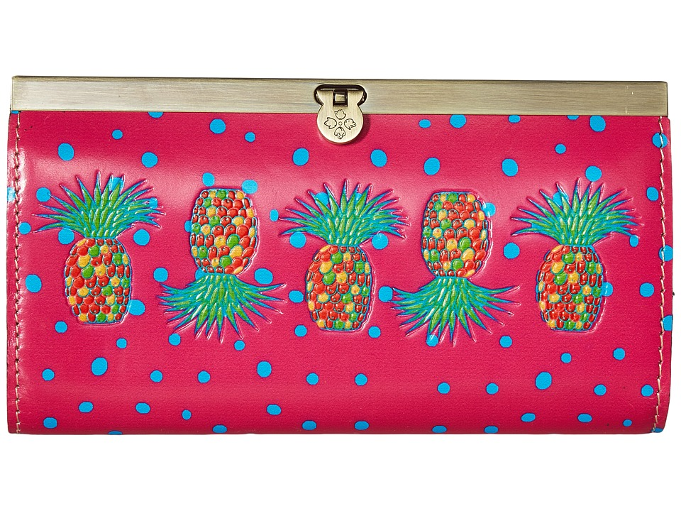 Patricia Nash - Cauchy Wallet (Pineapple Pink) Wallet