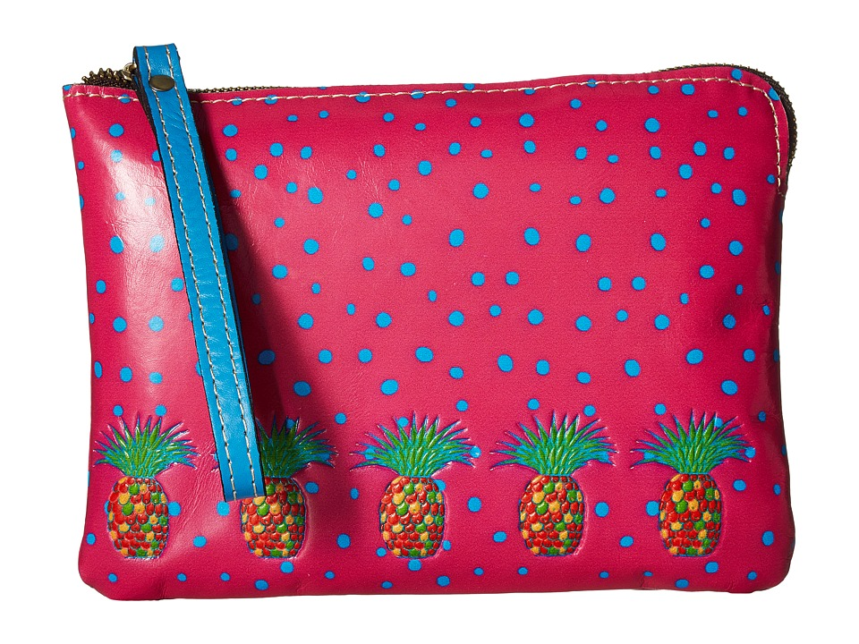 Patricia Nash - Cassini Wristlet (Pineapple Pink) Wristlet Handbags
