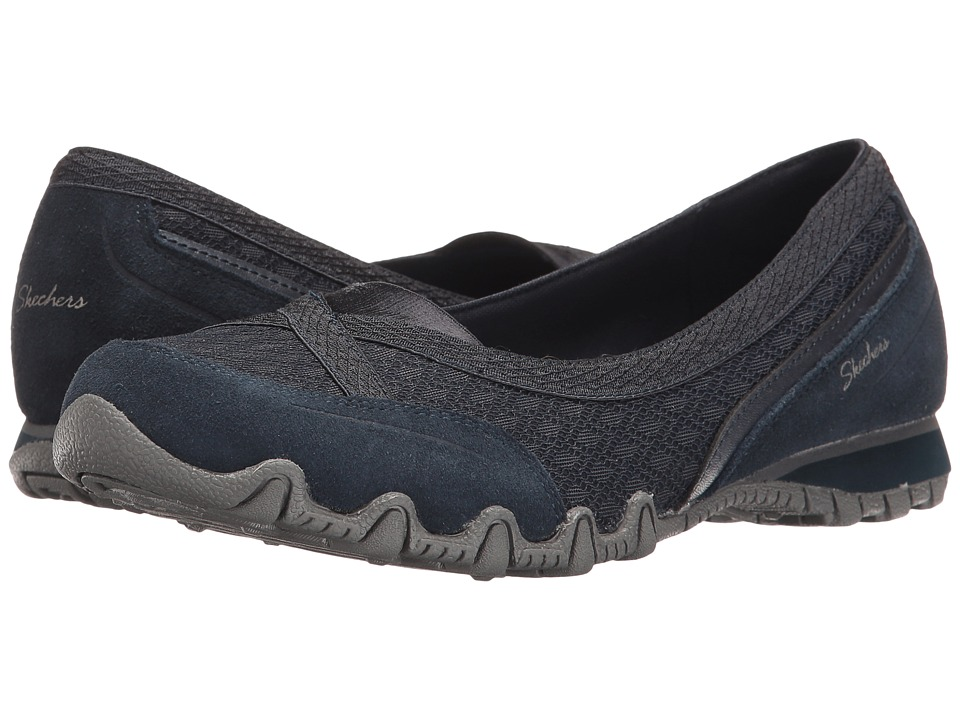 SKECHERS - Bikers - Skim (Navy) Women's Shoes