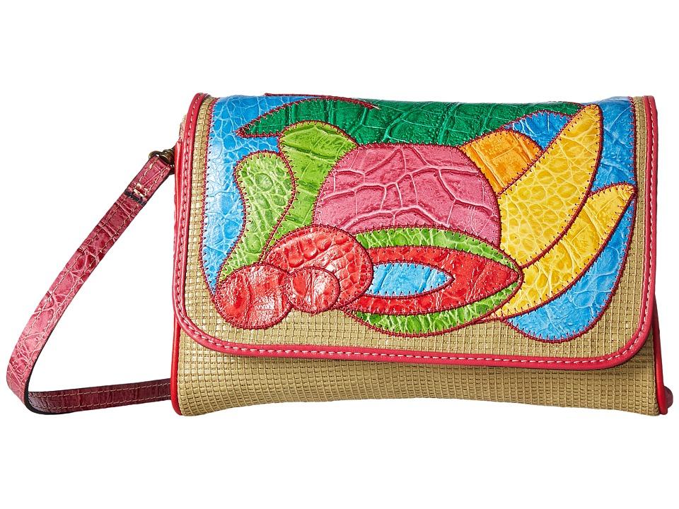 Patricia Nash - Luisia Fold-Over Clutch (Burlap) Clutch Handbags