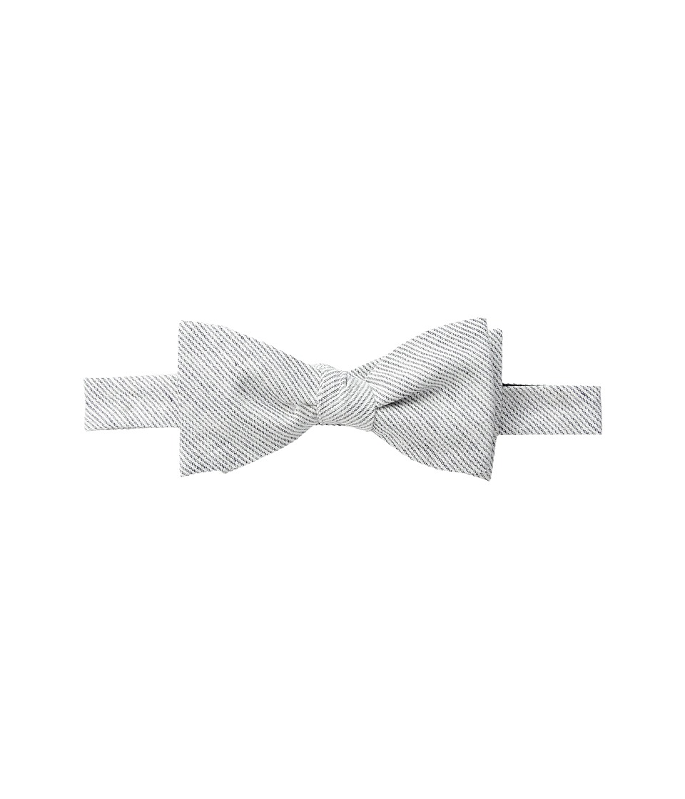 Vineyard Vines - Pinstripe Woven Bow Tie (Moonshine) Ties