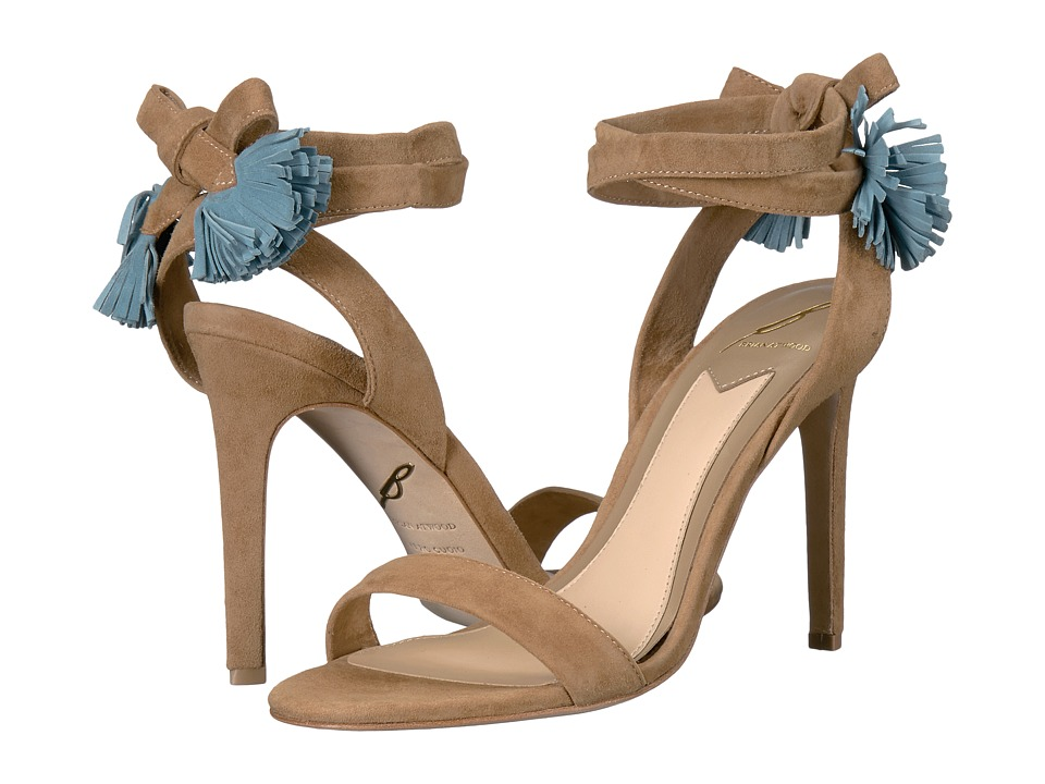 B Brian Atwood - Tiara (Camel Suede) High Heels