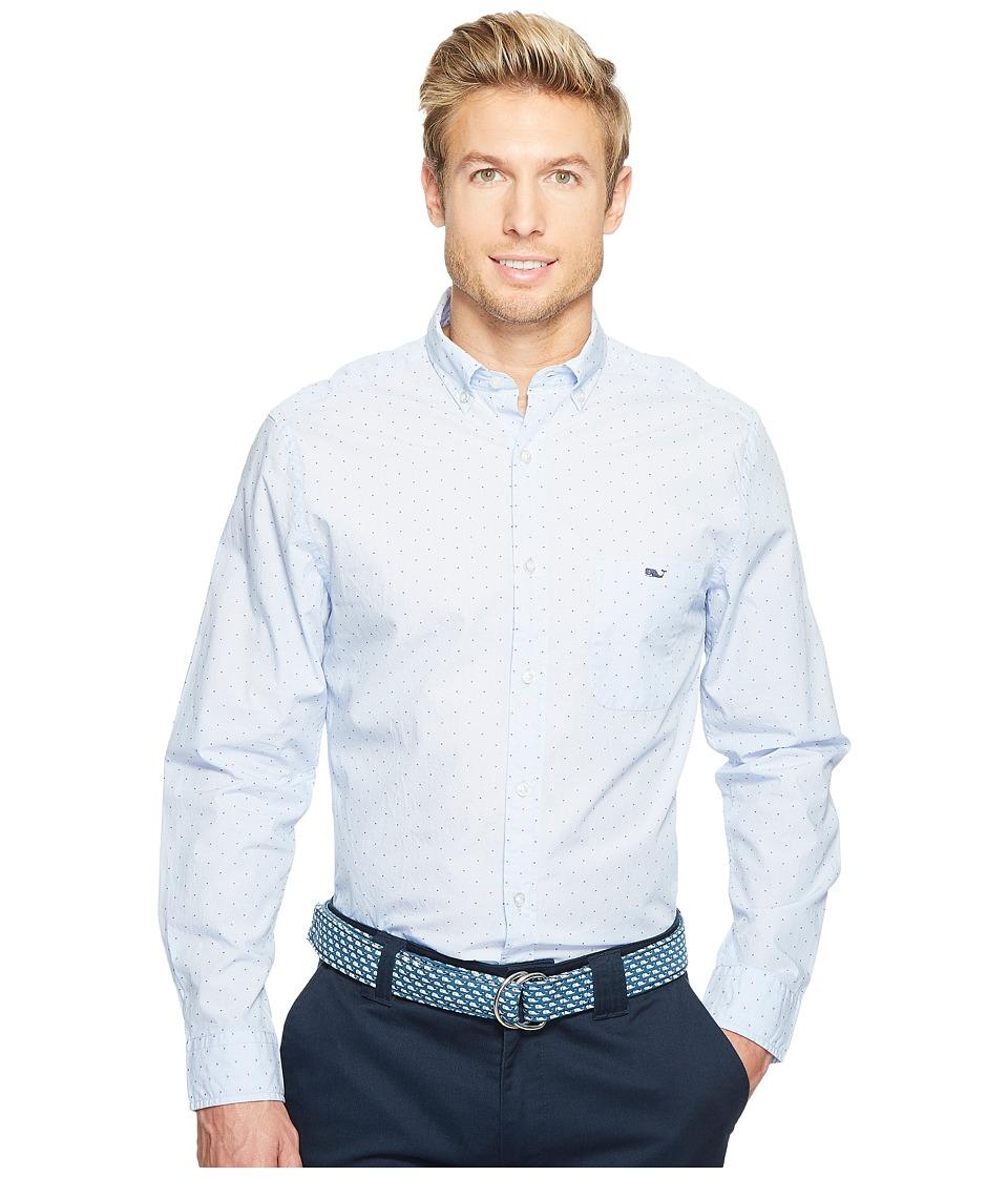Vineyard Vines - Viceroy Dobby Dot Classic Tucker Shirt (Jake Blue) Men's Clothing
