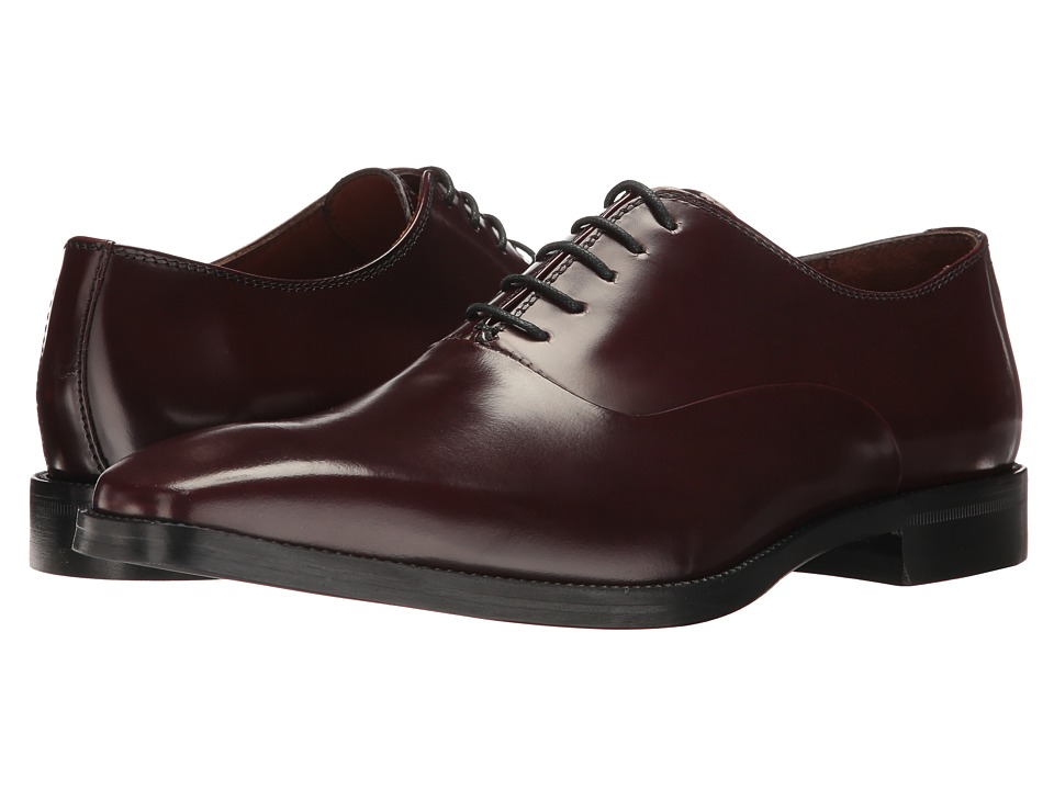Massimo Matteo - 5-Eye Bal 17 (Bordo Brush-Off) Men's Lace up casual Shoes