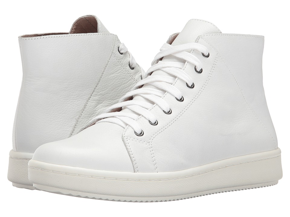 Eileen Fisher Game 2 (White Leather) Women