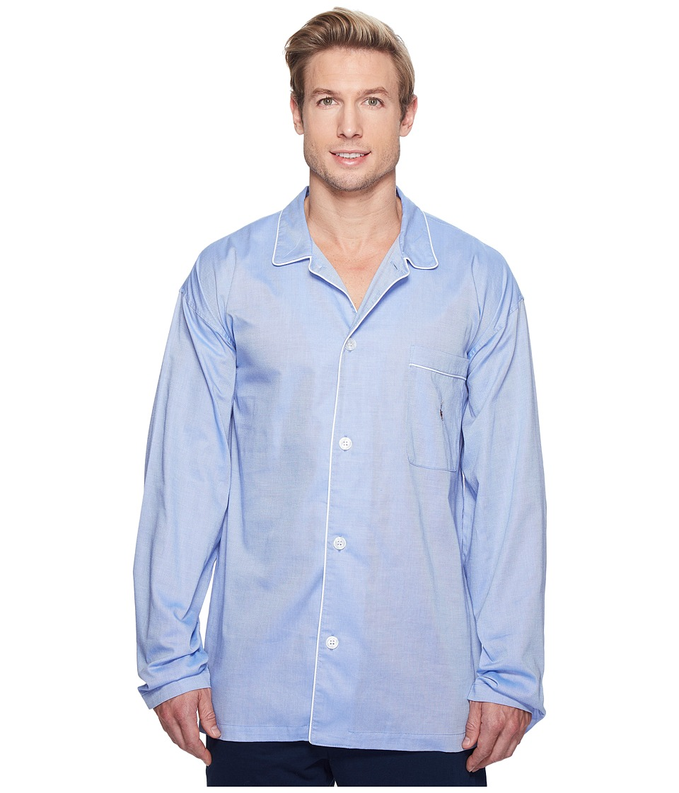 Polo Ralph Lauren - Oxford PJ Top (Blue Royal) Men's Pajama