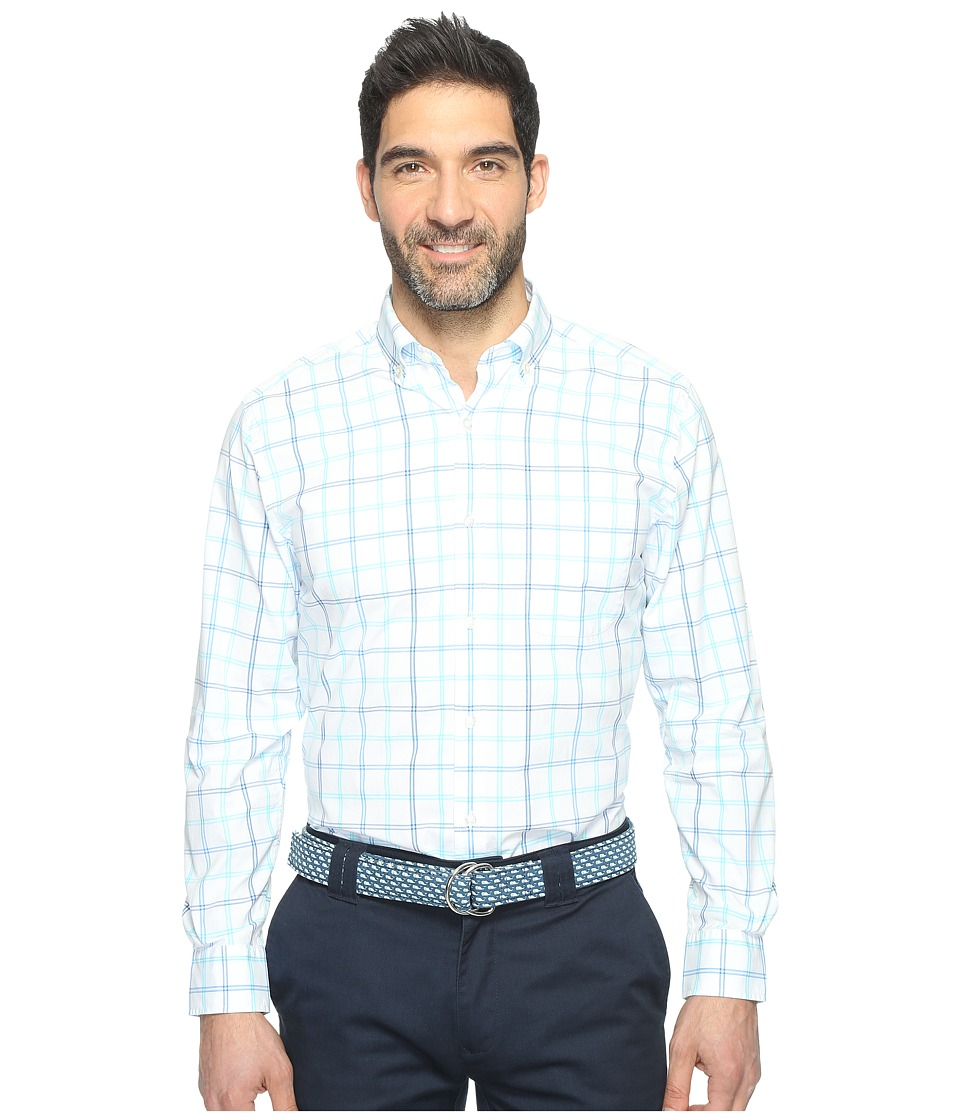 Vineyard Vines - Airlie Beach Check Murray Shirt (Turquoise) Men's Clothing