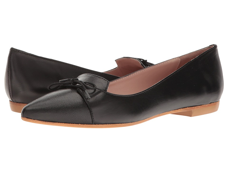 Summit by White Mountain - Katerine (Black Leather) Women's Shoes