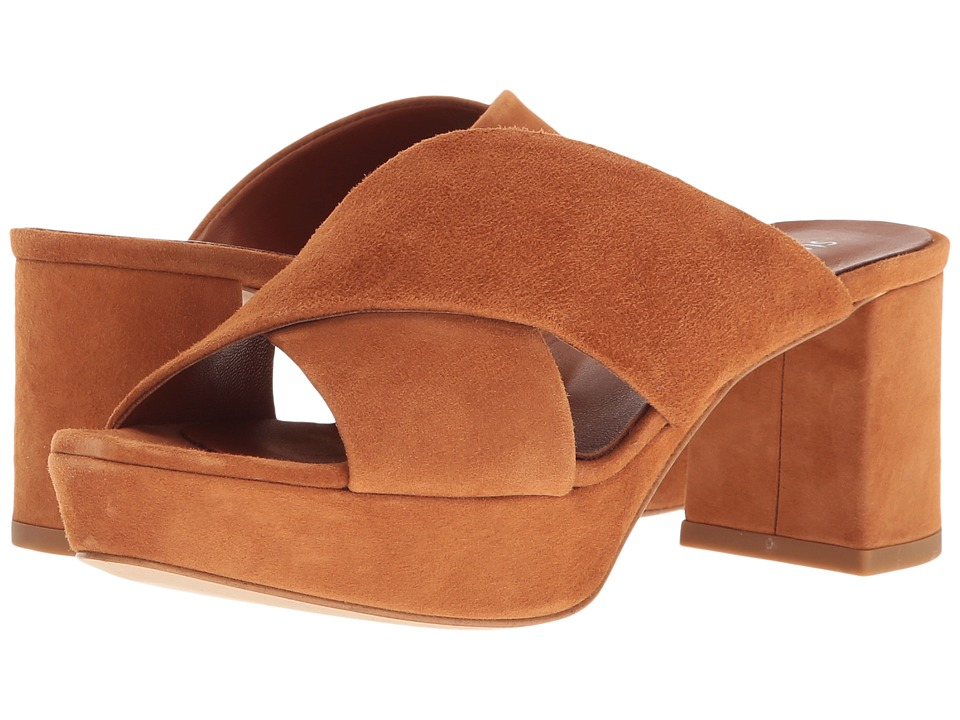 Summit by White Mountain - Edeline (Cognac Suede) Women's Shoes
