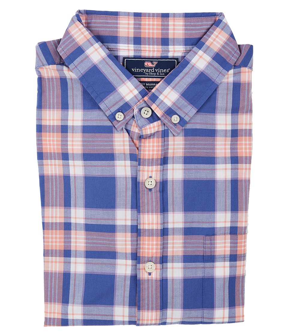 Vineyard Vines - Fort Purcell Plaid Slim Murray Shirt (Harbor Cay) Men's Clothing