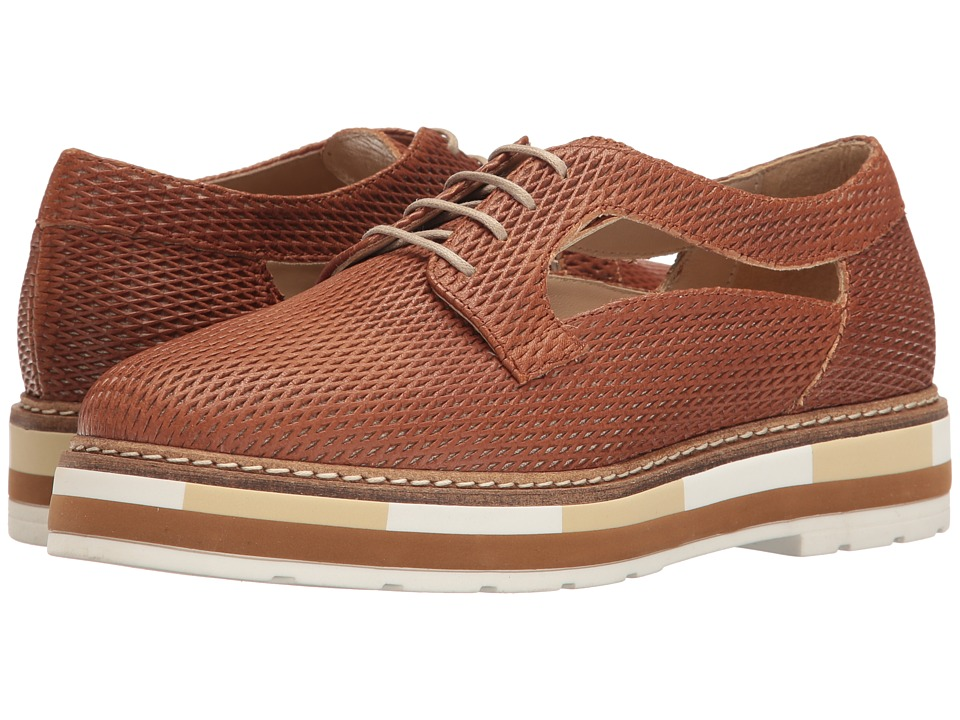 Summit by White Mountain - Bexley (Cognac Textured Leather) Women's Shoes