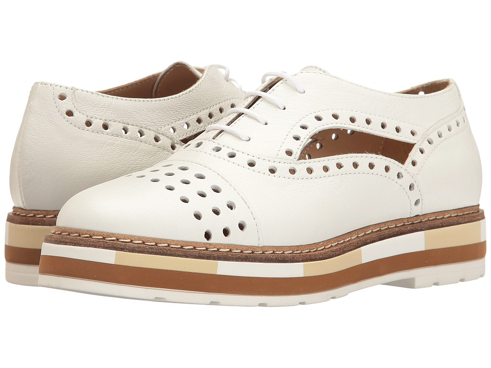 Summit by White Mountain - Brianne (White Leather) Women's Shoes