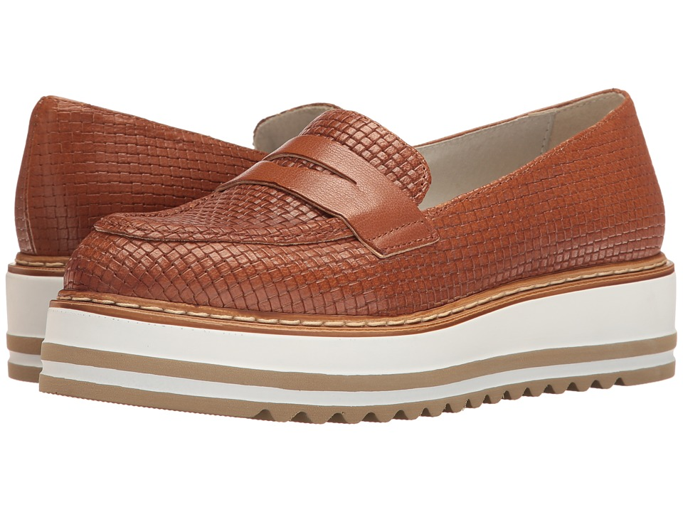 Summit by White Mountain - Bethania (Cognac Woven Leather) Women's Shoes